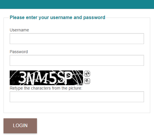 CakePHP 3.0 Auth Login BotDetect Captcha validation screenshot